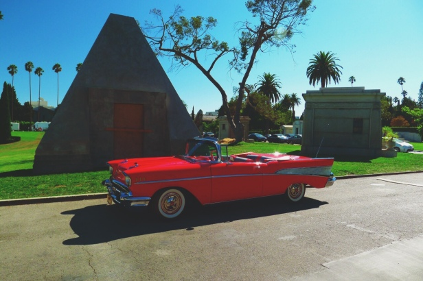 Hollywood Forever Cemetery, Los Angeles, California
