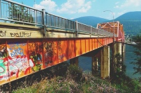 Orange Bridge, Nelson, British Columbia